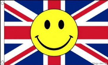 Union Jack Smiley Face